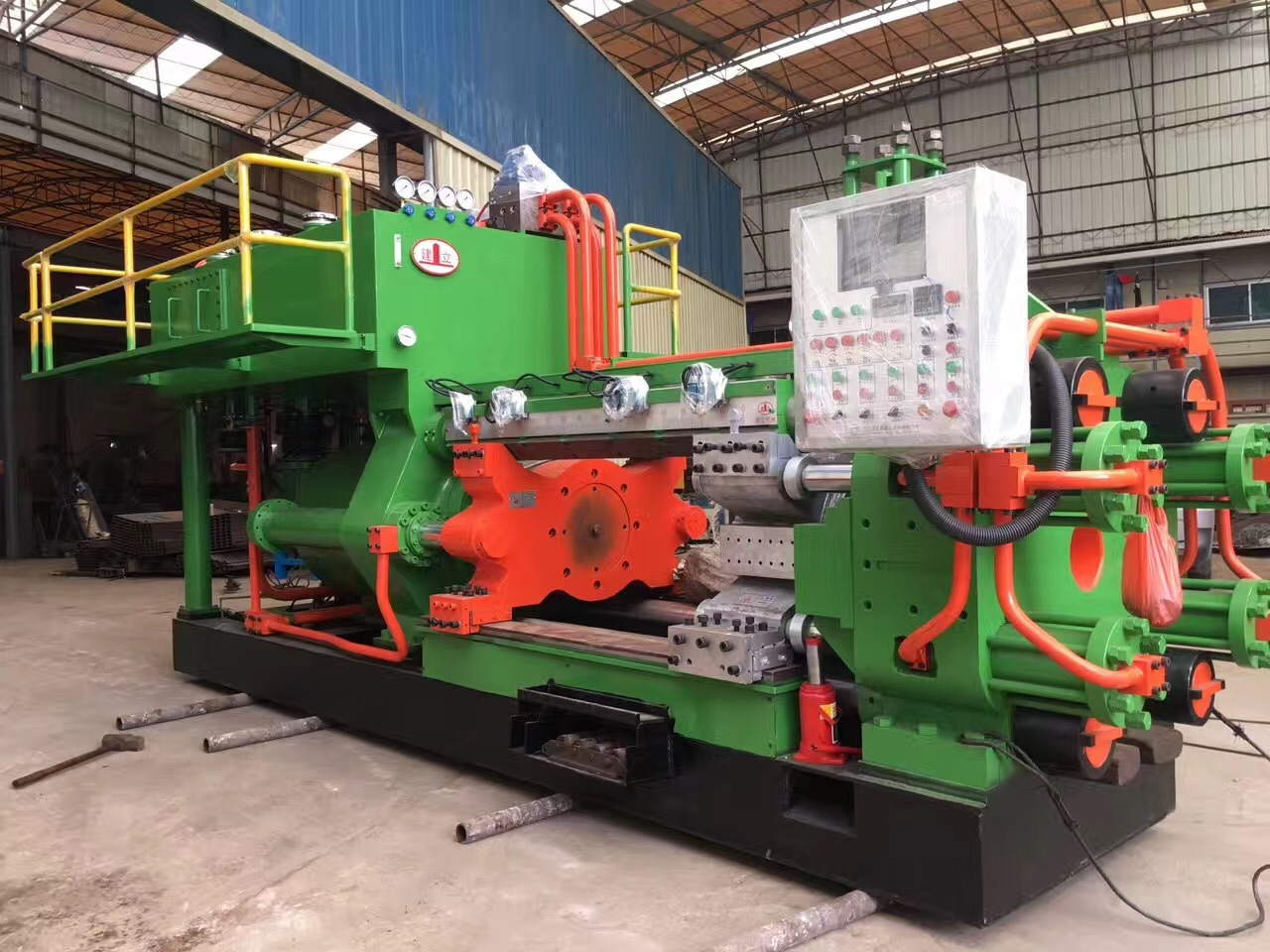 How to better use aluminum extrusion machine
